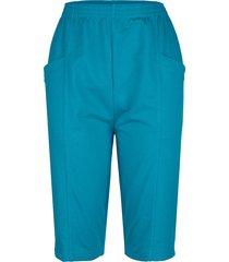 mjuka shorts med midjeresår paola blå