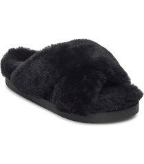 inuikii slipper classic shoes summer shoes flat sandals svart inuikii