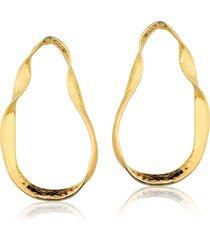brincos rincawesky orelha dourado