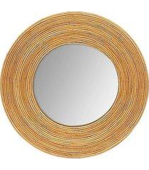 lustro okrągłe dekoracyjne jinwood