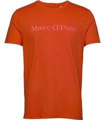 t-shirt t-shirts short-sleeved orange marc o'polo