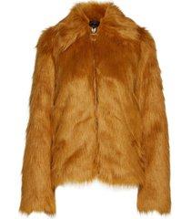 sahn outerwear faux fur oranje tiger of sweden jeans