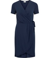 klänning vinayeli s/s knee wrap dress