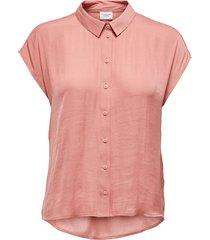 blusa jacqueline de yong mc rosa - calce holgado