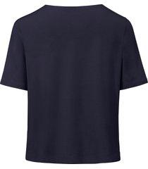 shirt met ronde hals van riani blauw