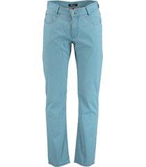 gardeur broek lichtblauw met structuur 411251/65
