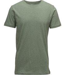 alder basic tee t-shirts short-sleeved grön knowledge cotton apparel
