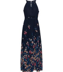 dresses light woven maxiklänning festklänning blå esprit collection