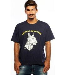 camiseta hardivision the dog manga curta