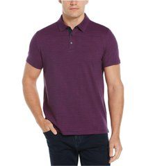 men's geo print ultra soft touch short sleeve polo shirt