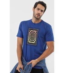 camiseta volcom all ages azul