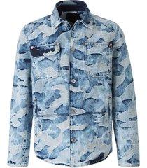 camouflage textuur jas