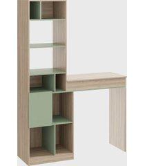 estante mesa ba㺠multiuso aveiro/verde/verde be mobiliã¡rio - verde - dafiti