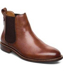 character stövletter chelsea boot brun dune london