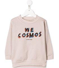 bobo choses we cosmos sweatshirt - neutrals