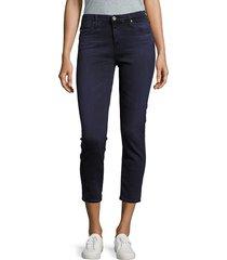 ag jeans women's cigarette skinny jeans - blue - size 24 (0)