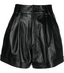 manokhi jett shorts - black