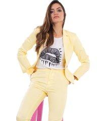 blazer amarillo mia loreto king