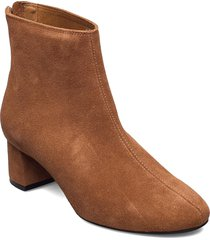 high heel ankle boot shoes boots ankle boots ankle boot - heel brun ilse jacobsen