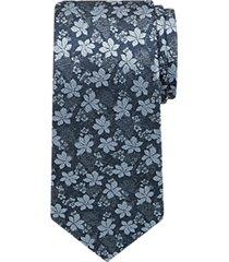 joseph abboud indigo blue narrow tie blue floral
