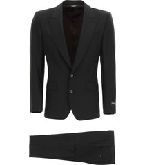 dolce & gabbana sicilia fit two-piece suit in virgin wool