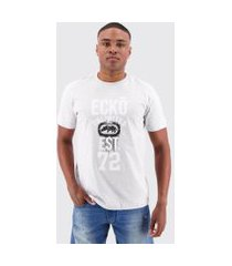 camiseta ecko ice basic cinza mescla