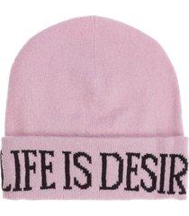 cuffia berretto donna in lana life is desire capsule collection