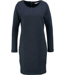 garcia donkerblauwe structure sweater jurk