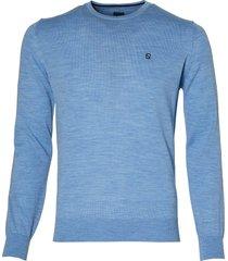 nils pullover - slim fit - lichtblauw