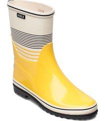 ai venise bott col mariniere regnstövlar skor gul aigle