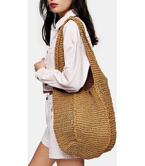 bali natural slouchy tote bag - natural