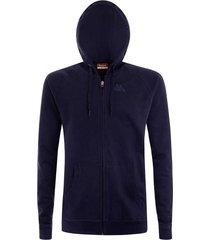 chaqueta para hombre logo jack slim kappa azul kappa