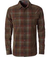 camisa cover cord marrón royal robbins by doite