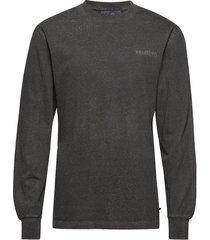 casual long sleeve tee t-shirts long-sleeved grijs han kjøbenhavn