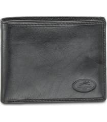 mancini equestrian2 collection rfid secure classic billfold wallet