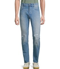 g-star raw men's distressed slim-fit jeans - faded seaside - size 29 32