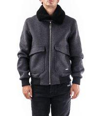 off-white wool blend jacket