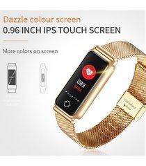 reloj inteligente y8 androd ios ips toque pantalla-dorado