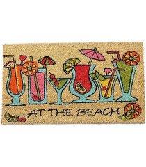 wycieraczka wejściowa at the beach