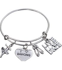 dance jewelry - dance bangle bracelet - perfect gift for dancers