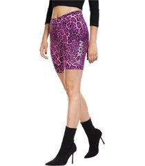 legging biker leopard rosado ngx