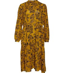 noella noella lipe dress mustard flower
