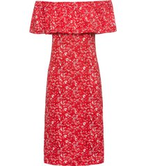 abito in maglina con spalle scoperte (rosso) - bodyflirt