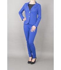 lou & max pants jille royal blue blauw