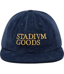 stadium goods corduroy baseball hat - blue