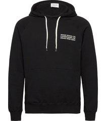 fred hoodie hoodie trui zwart wood wood