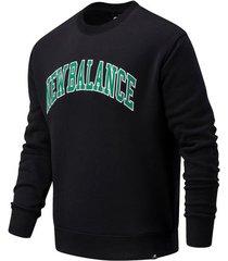 sweater new balance nbmt03515bk