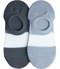 lemon women's clear coat liner socks - pack of 2