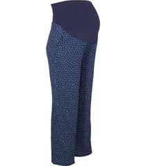 pantaloni prémaman a pois (blu) - bpc bonprix collection