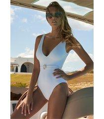 melissa odabash belize swimsuit white